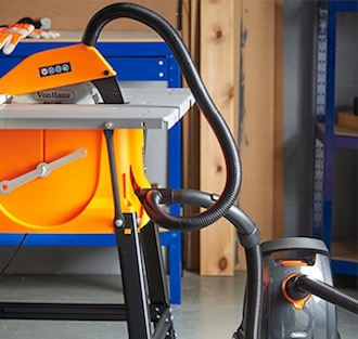 VonHaus dust extraction for table saw