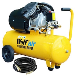 Image of the Wolf Cheyenne air compressor