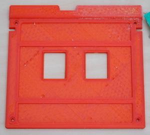 button panel 3D print