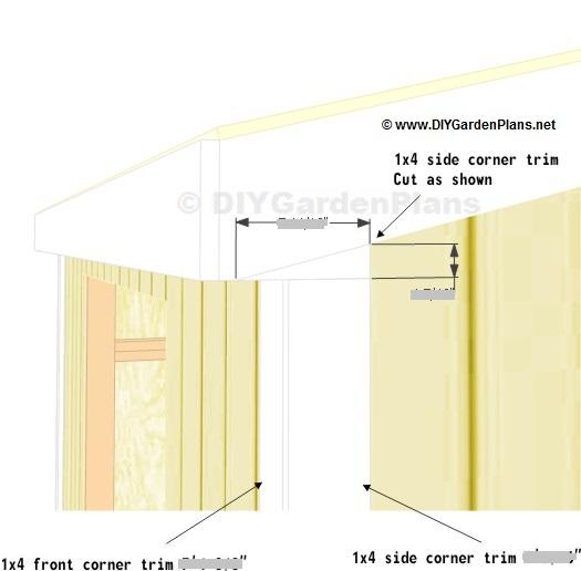 Shed Plans 10x10 Loft