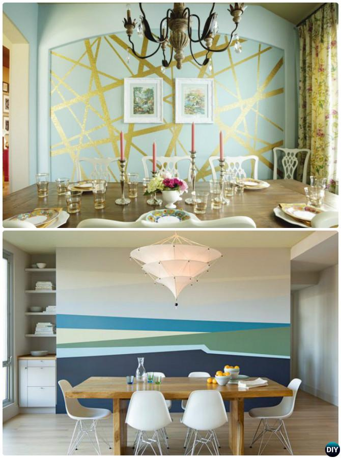 Diy Patterned Wall Painting Ideas And Techniques Picture