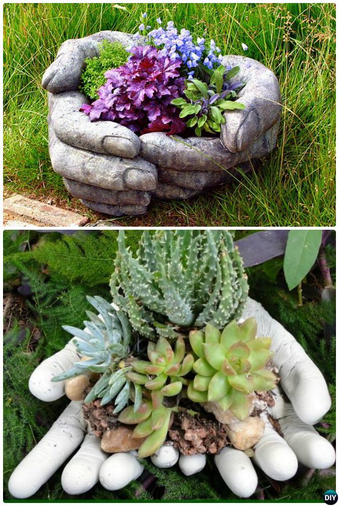 DIY Garden Art Decorating Ideas Instructions on Easy Diy Garden Decor id=23397