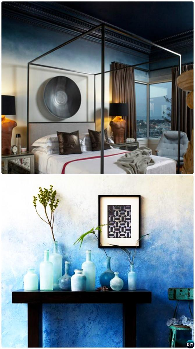 With the right tips, it's easy to make your home flow together. DIY Patterned Wall Painting Ideas and Techniques [Picture