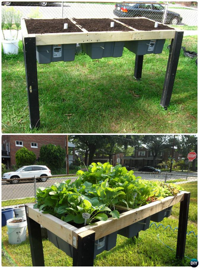 DIY Raised Garden Bed Ideas Instructions Free Plans on Backyard Raised Garden Bed Ideas id=49138
