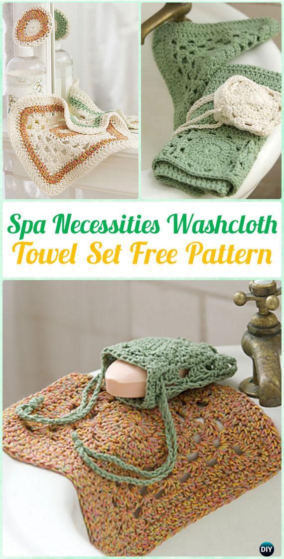 Crochet Spa Gift Ideas Free Patterns
