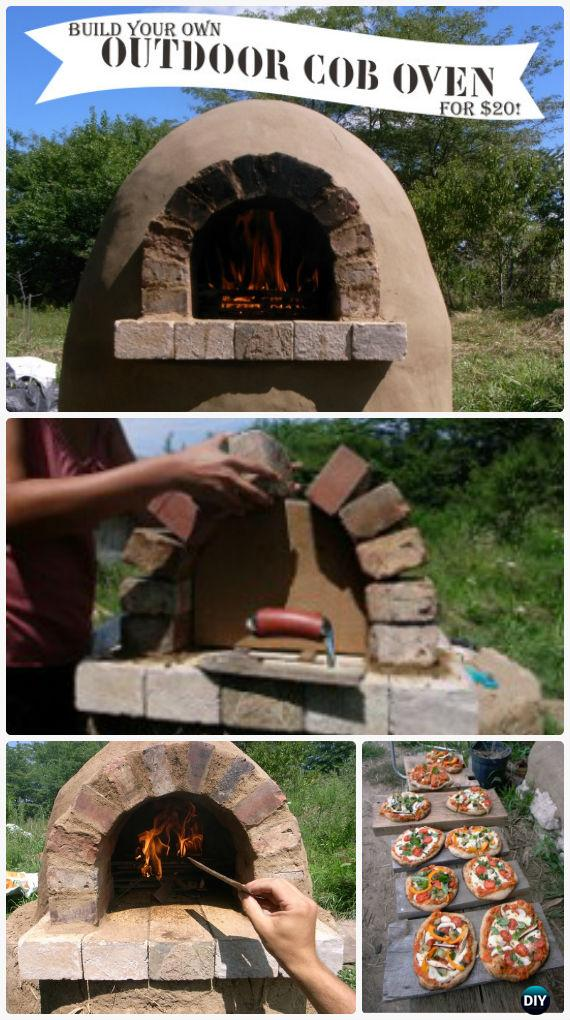 Diy Outdoor Pizza Oven Ideas Amp Projects Instructions