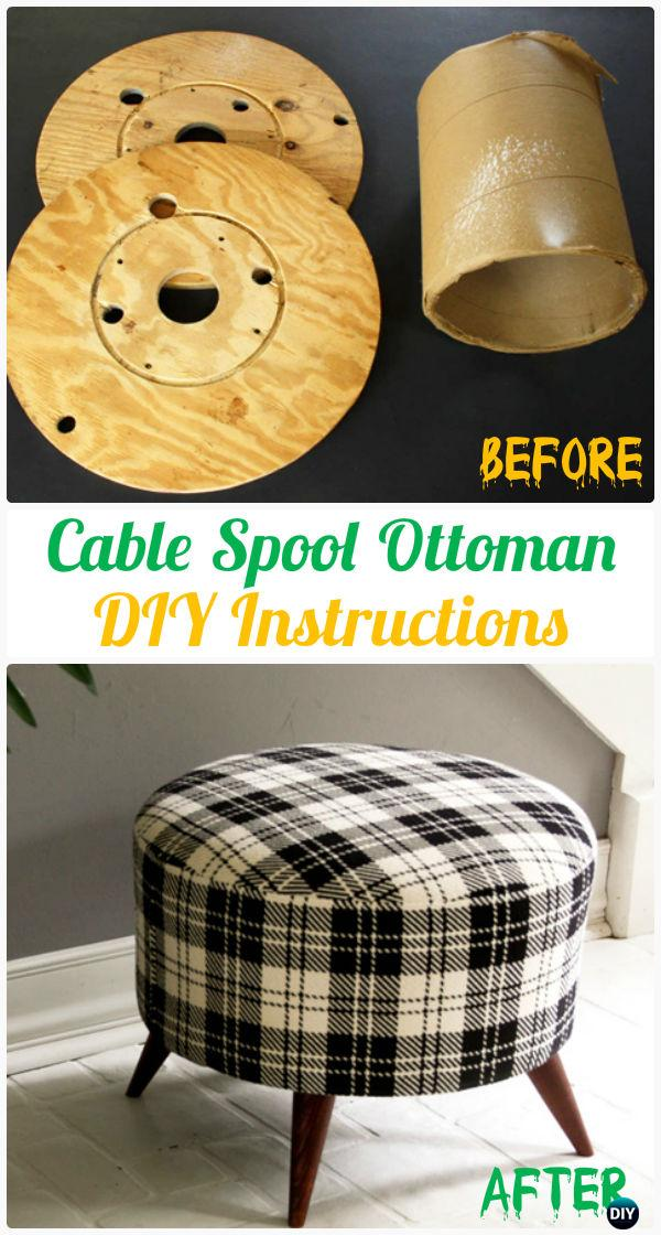 DIY Recycled Wood Cable Spool Furniture Ideas Projects Amp Instructions