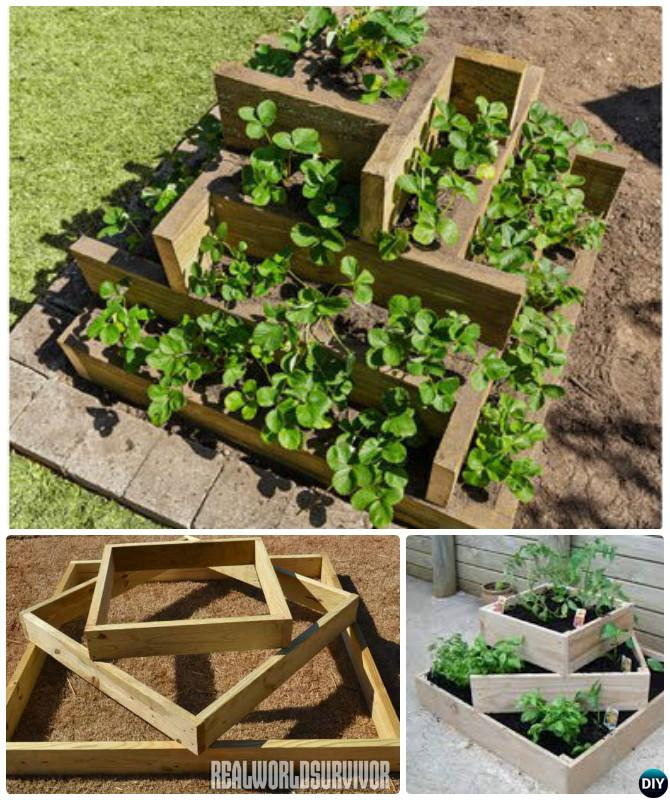 Vegetable Garden Planter Box Ideas