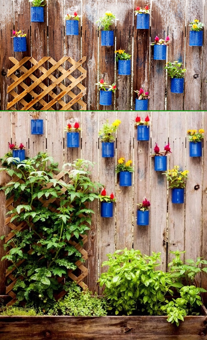 Backyard Garden Fence Decoration Makeover DIY Ideas on Backyard Wall Decor Ideas  id=94241