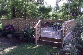 Garden Decking Designs - Freestanding Deck