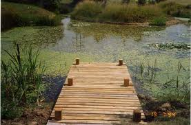 garden decking designs - Jetty deck
