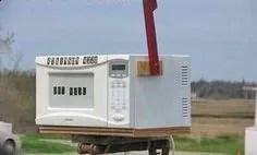 microwave mailbox ideas