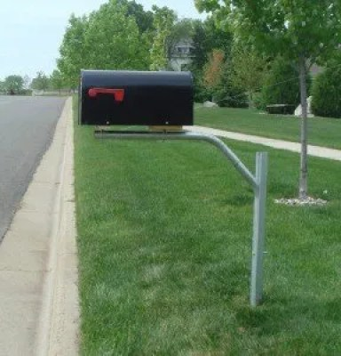 Swing Away Mailbox Get Snow Plow Protection