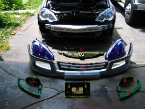 2005 RSX Front End Conversion | Acura RSX