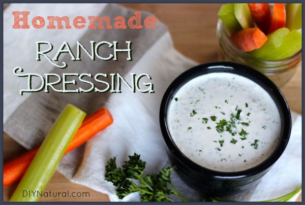 Homemade Ranch Dressing Better For You and So Delicious