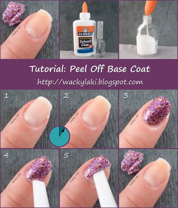 Step 2 Rub Gently To Remove Nail Polish