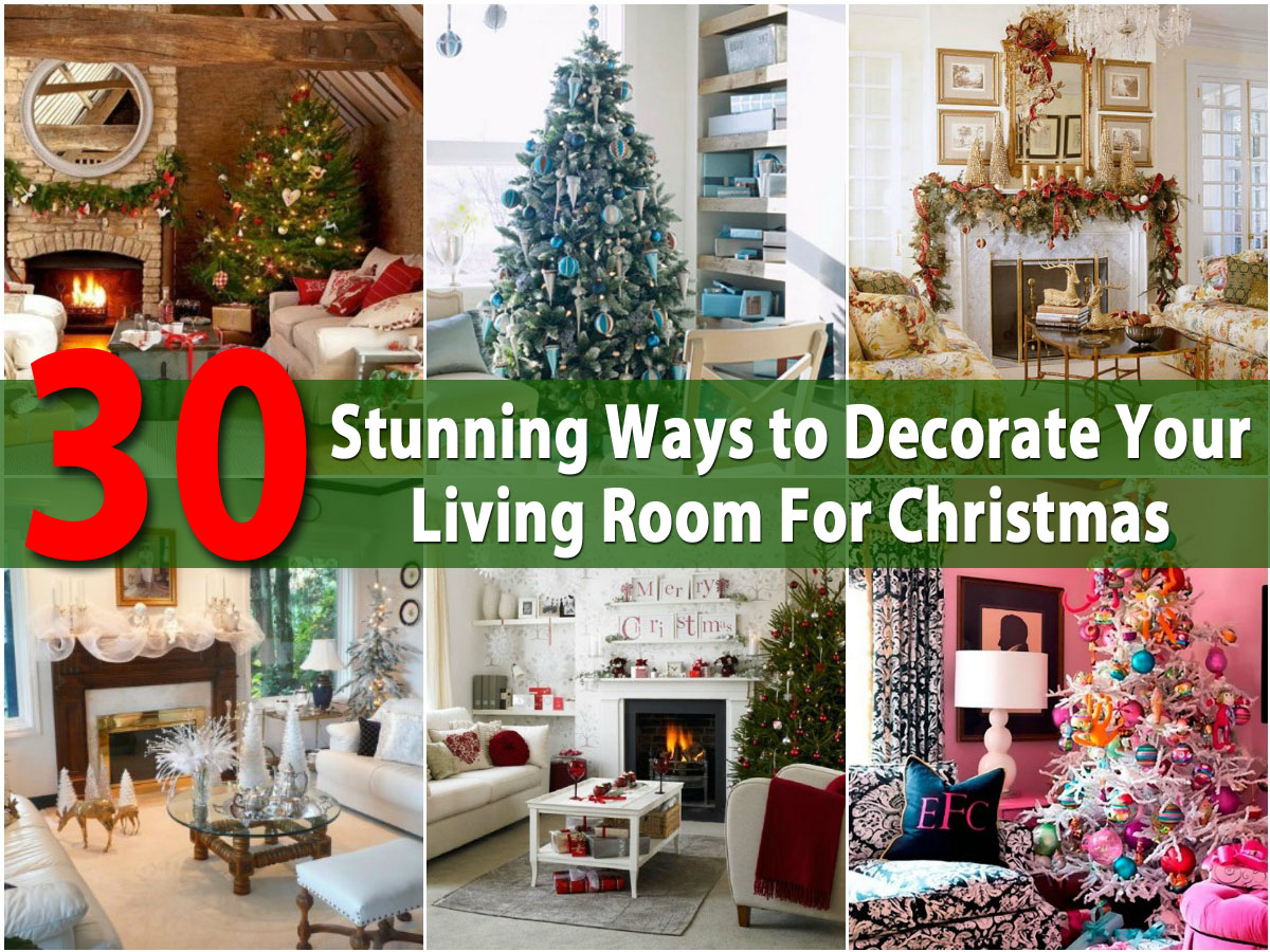 30 Stunning Ways to Decorate Your Living Room For ... on How To Decorate Your Room  id=84105