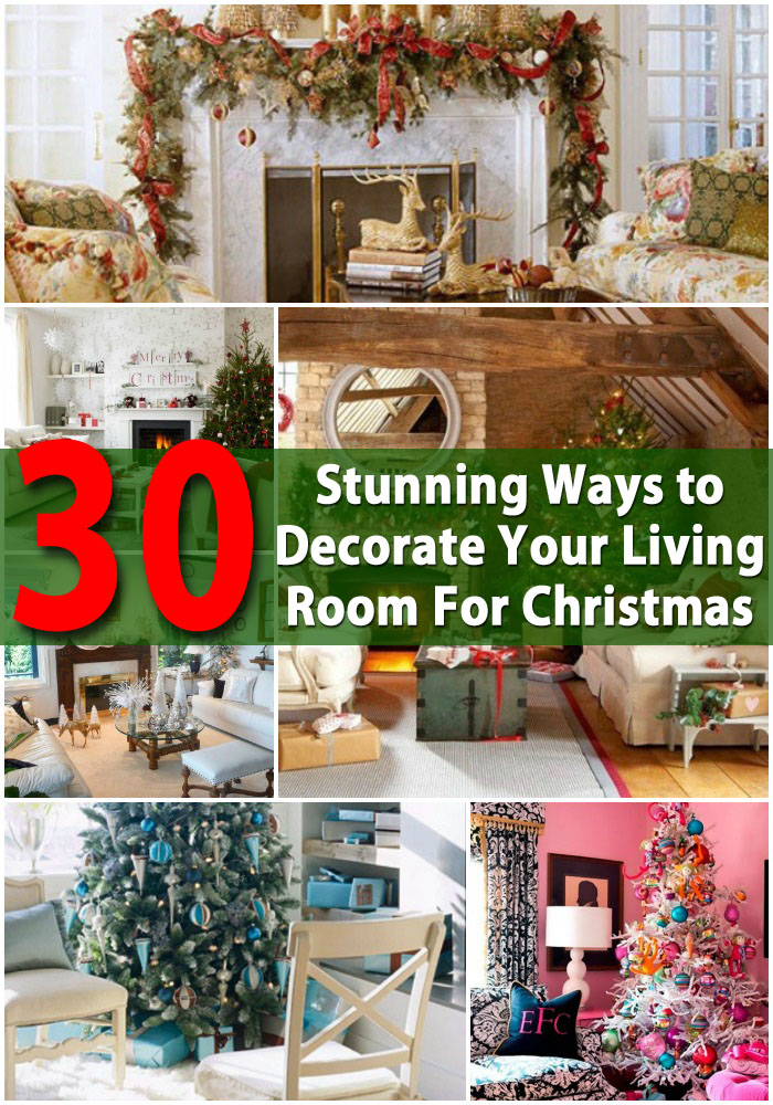 Diy ways to decorate your room for christmas for Craft ideas for living room