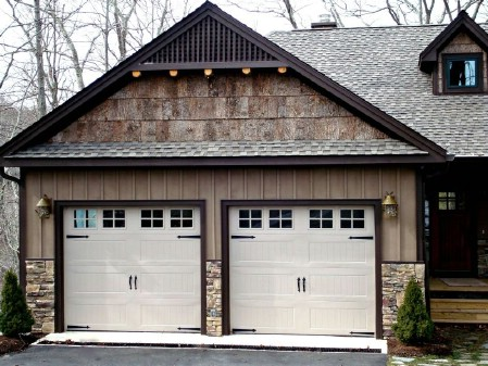 150 Remarkable Projects and Ideas to Improve Your Home's ... on Garage Door Color Ideas  id=79435