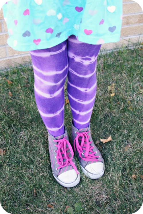 Tie Dye Tights