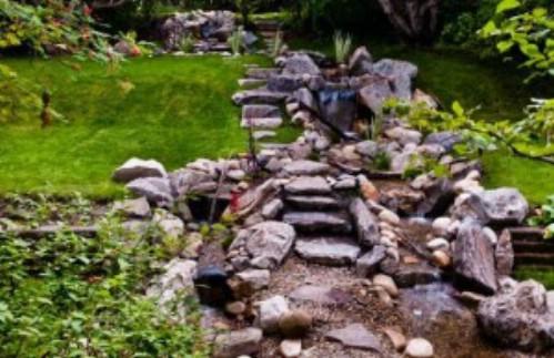 70 Summery Backyard DIY Projects That Are Borderline ... on Backyard Stream Ideas id=79301