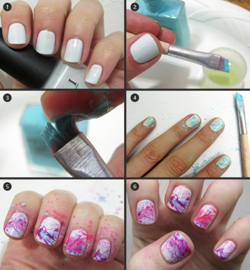 Splattered Nails