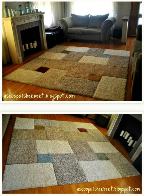 30 Magnificent DIY Rugs to Brighten up Your Home   DIY   Crafts Mix  n Match   30 Magnificent DIY Rugs to Brighten up Your Home