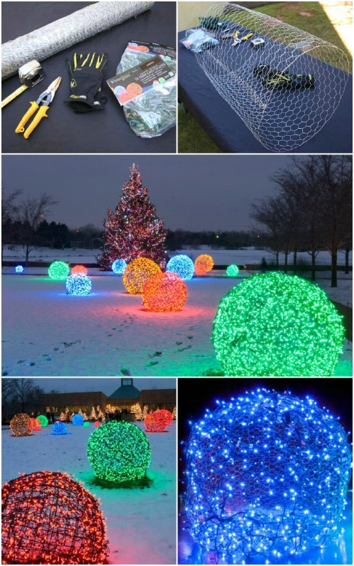 30 Magically Festive String And Fairy Light DIYs For