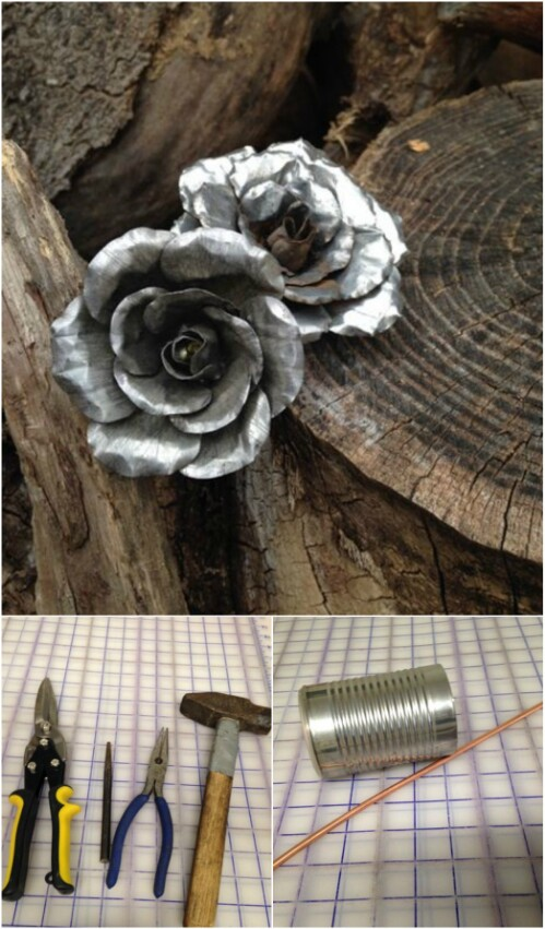 50 Jaw-Dropping Ideas for Upcycling Tin Cans Into ...