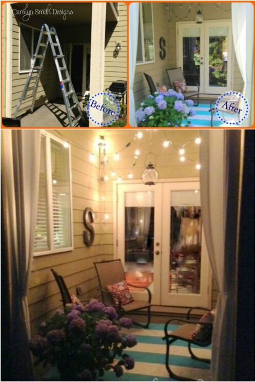 30 Amazing Patio Makeover Ideas That Will Beautify Any ... on Cozy Patio Ideas id=98465