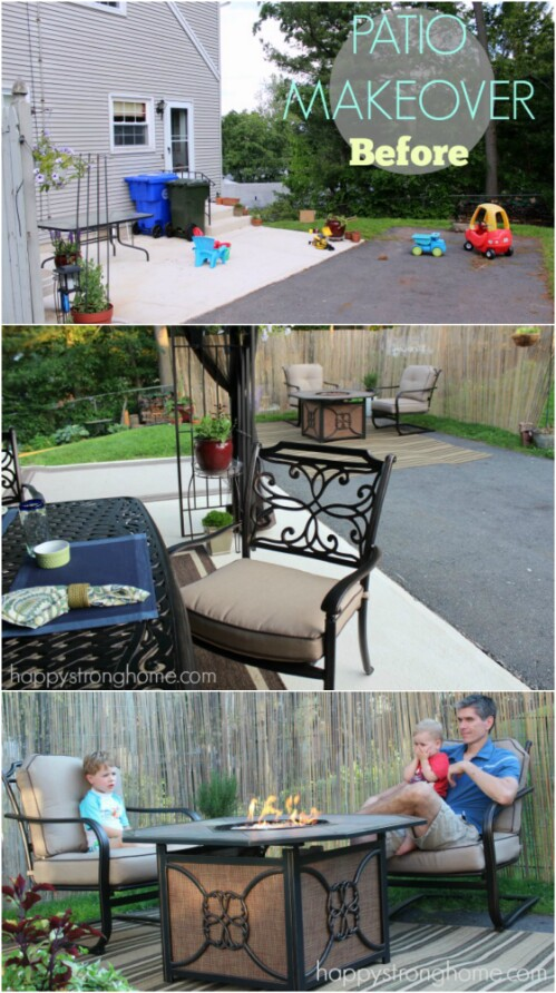 30 Amazing Patio Makeover Ideas That Will Beautify Any ... on Backyard Patio Makeover id=91575