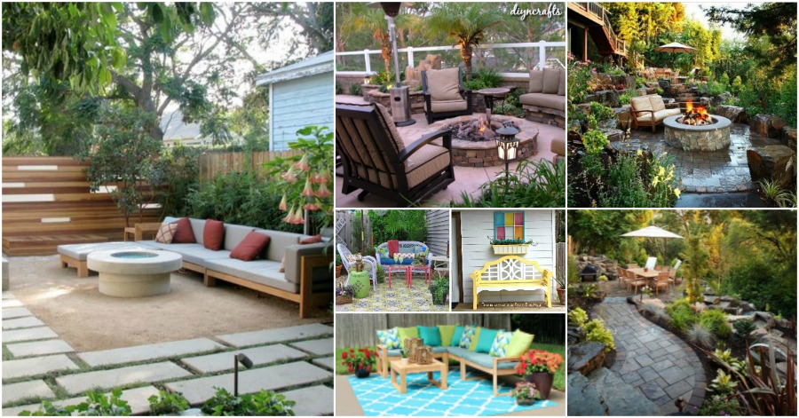 30 Amazing Patio Makeover Ideas That Will Beautify Any ... on Backyard Patio Makeover id=66691