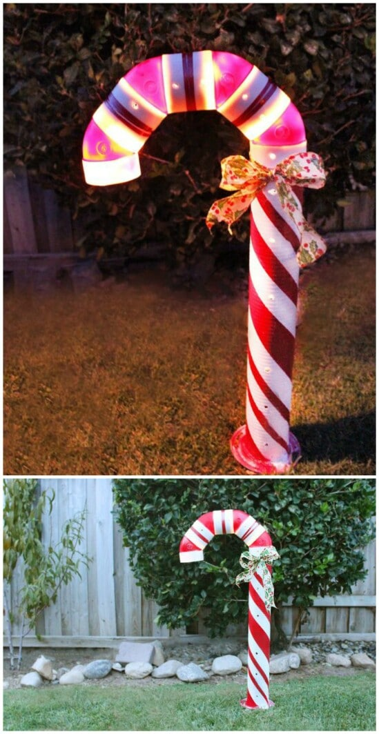 20 Impossibly Creative DIY Outdoor Christmas Decorations ... on Lawn Decorating Ideas  id=92855