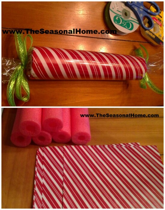 Plastic Outdoor Candy Cane Decorations