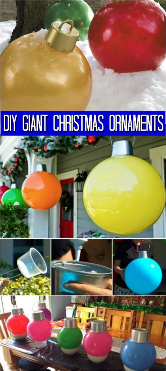 20 Impossibly Creative DIY Outdoor Christmas Decorations ... on Lawn Decorating Ideas id=73210