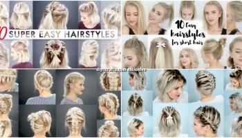 25 Genius Short Hair Hacks That Make Hair Styling a Breeze - DIY ...
