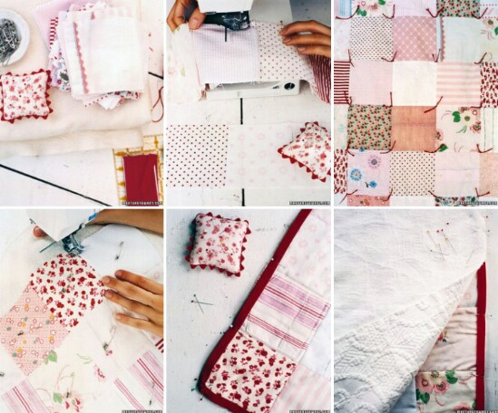Baby Clothing Memory Quilt - 20 Adorably Creative Upcycling Projects To Repurpose Old Baby Clothes