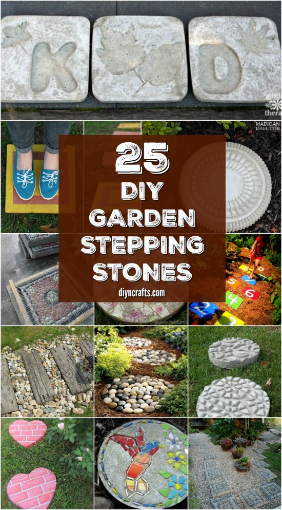 25 Top Garden Stepping Stone Ideas For A Beautiful Walkway ... on Stepping Stone Patio Ideas  id=87264