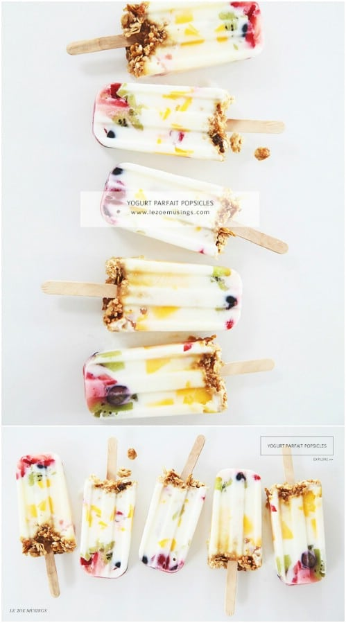 13 Refreshing Popsicle Recipes Perfect for Hot Summer Days (Part 1)