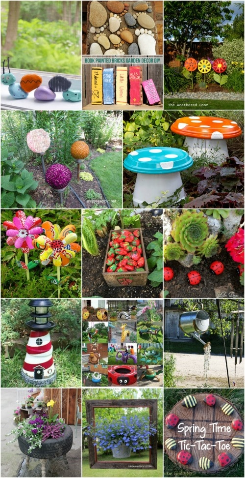 30 Adorable Garden Decorations To Add Whimsical Style To ... on Whimsical Backyard Ideas id=44928