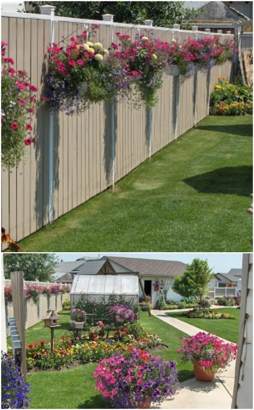 DIY Outdoor Projects: 18 Lovely Fence Decorating Ideas