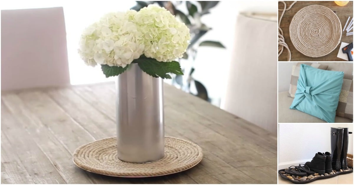 4 Easy And Fun DIY Home Decorating Projects You Have To Try {Video  Instructions}