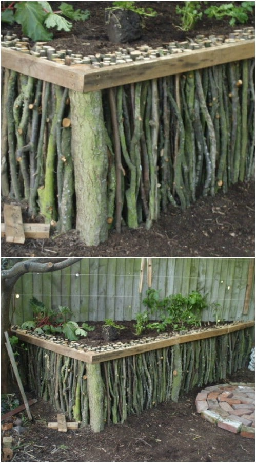 16 DIY Home And Garden Projects Using Sticks And Twigs