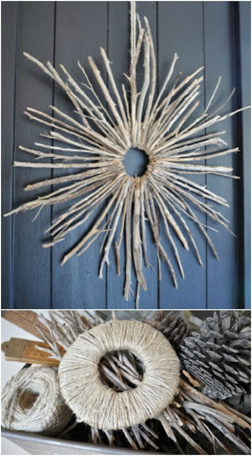 16 DIY Home And Garden Projects Using Sticks And Twigs Style Motivation