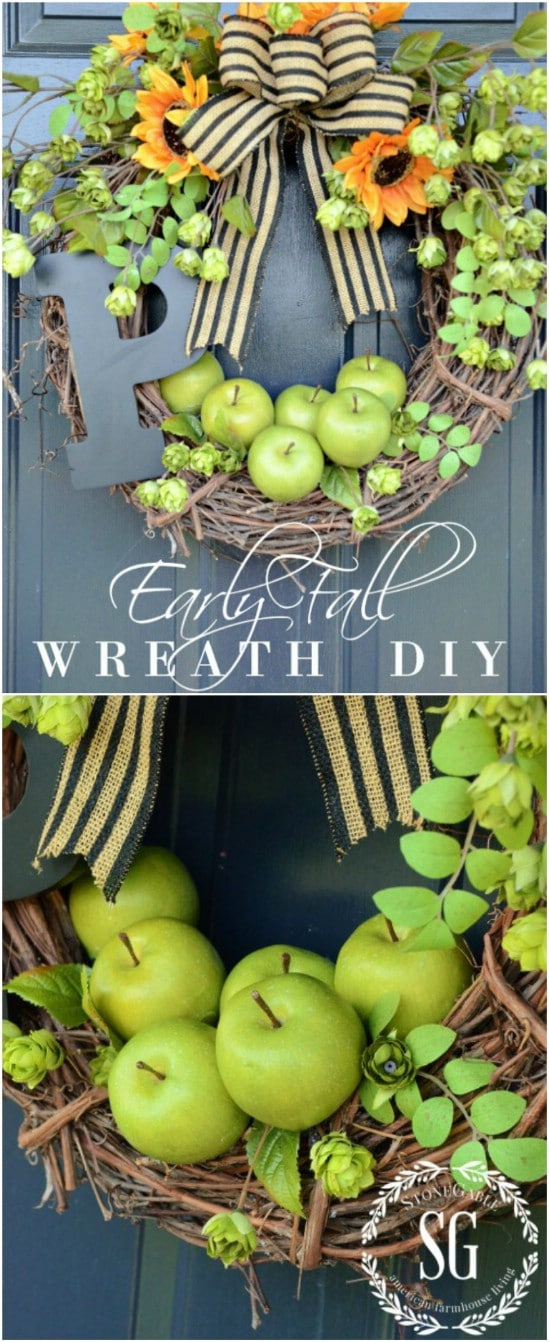 18 Great DIY Fall Wreaths to Dress Up Your Front Door