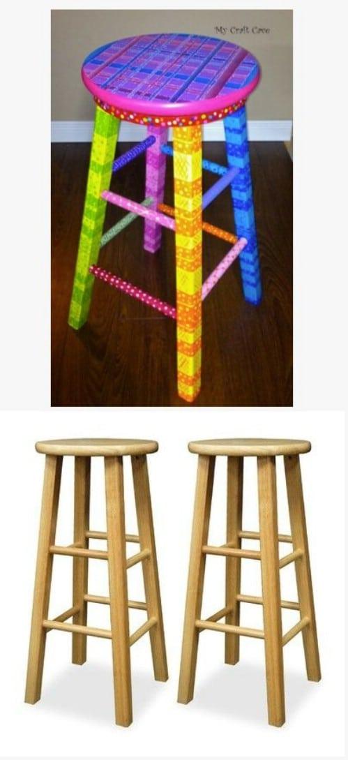 Trendy Furniture 14 DIY Bar Stool Ideas Style Motivation