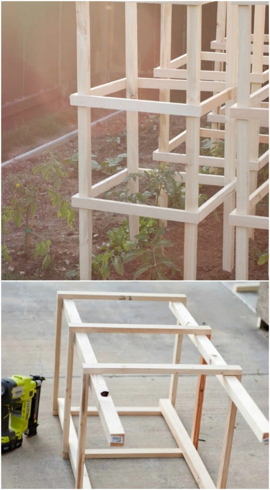14 Great Diy Garden Plant Supports And Ideas Style