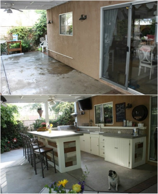 15 Amazing DIY Outdoor Kitchen Plans You Can Build On A ... on Patio Kitchen Diy  id=18927