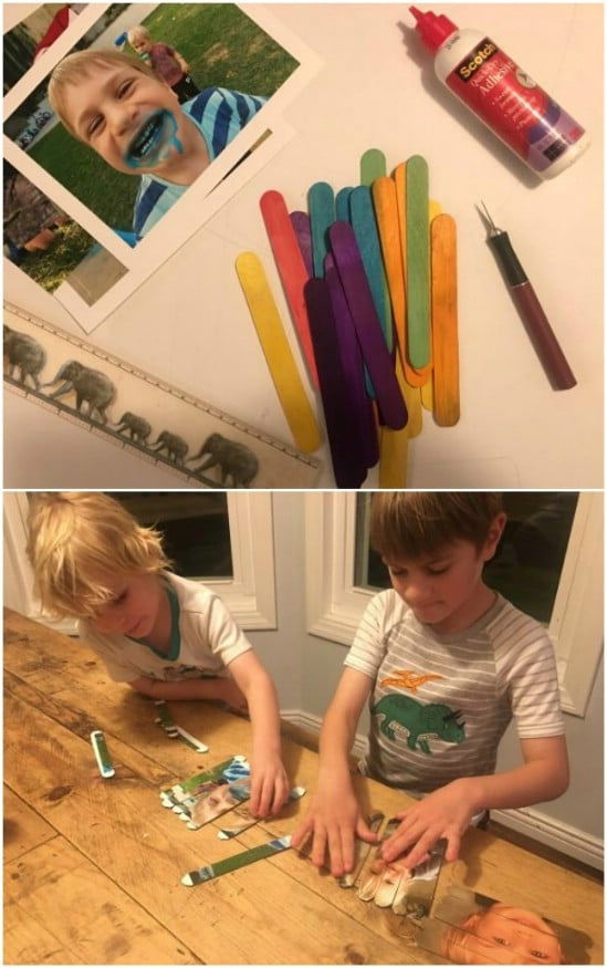 Simple DIY Craft Stick Puzzles