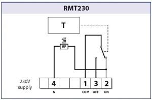 Floureon Smart Thermostat  to replace RMT230 | DIYnot Forums